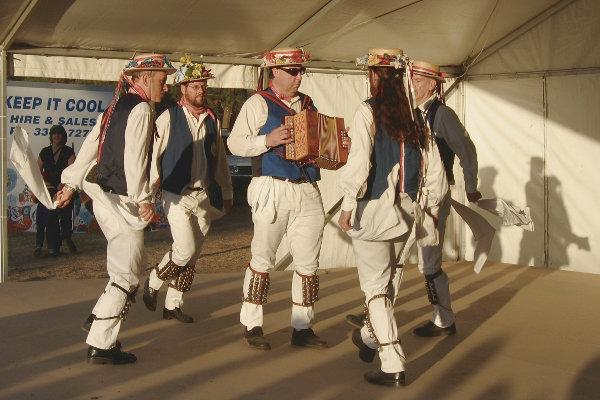 Britannia performing Draftys Shuffle